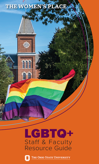 LGBTQ Staff & Faculty Resources Guide cover graphic